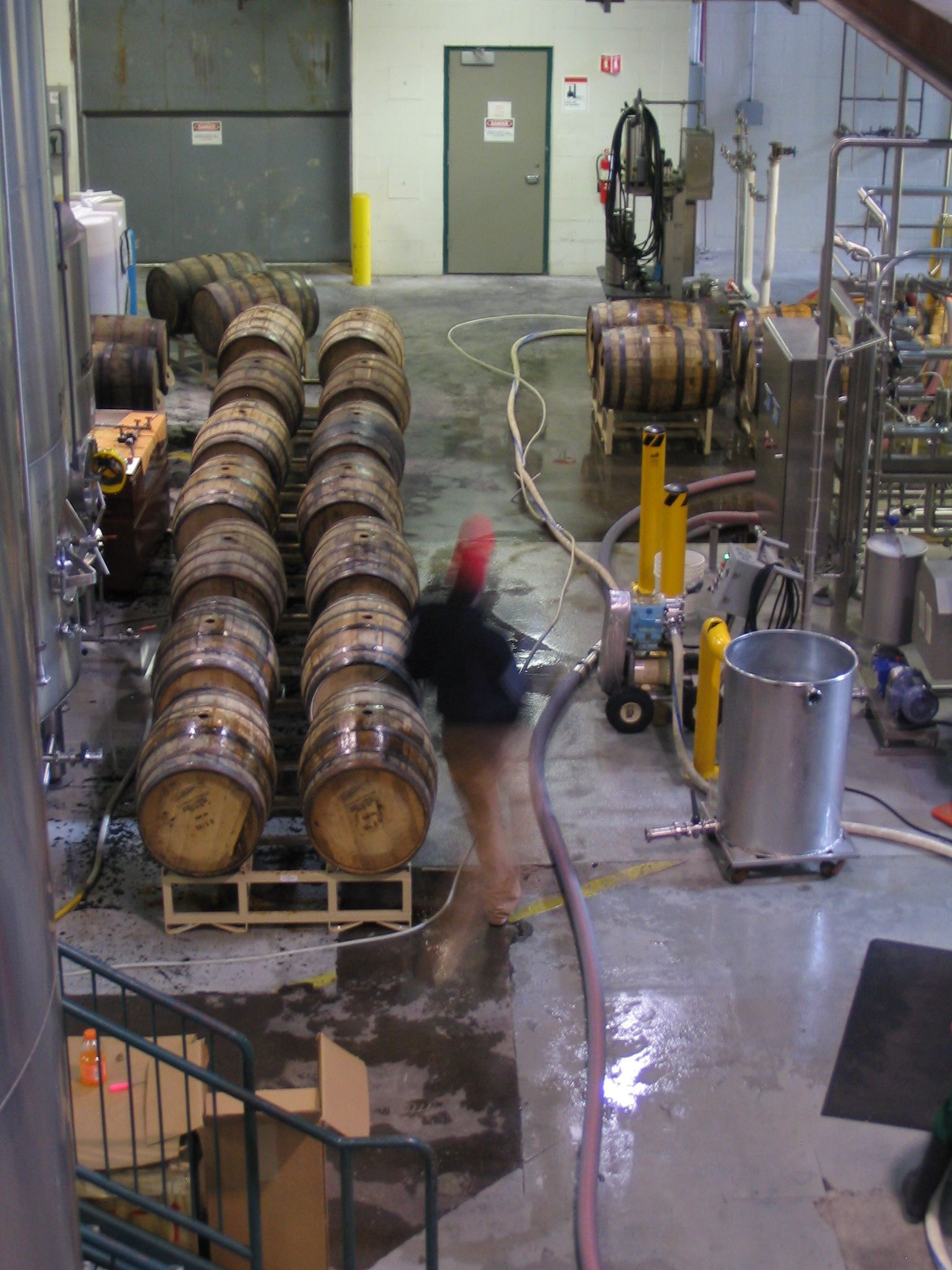 Deschutes' cellar head extracts Abyss from barrels for our drinking pleasure.