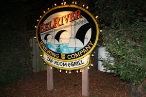 Eel River sign