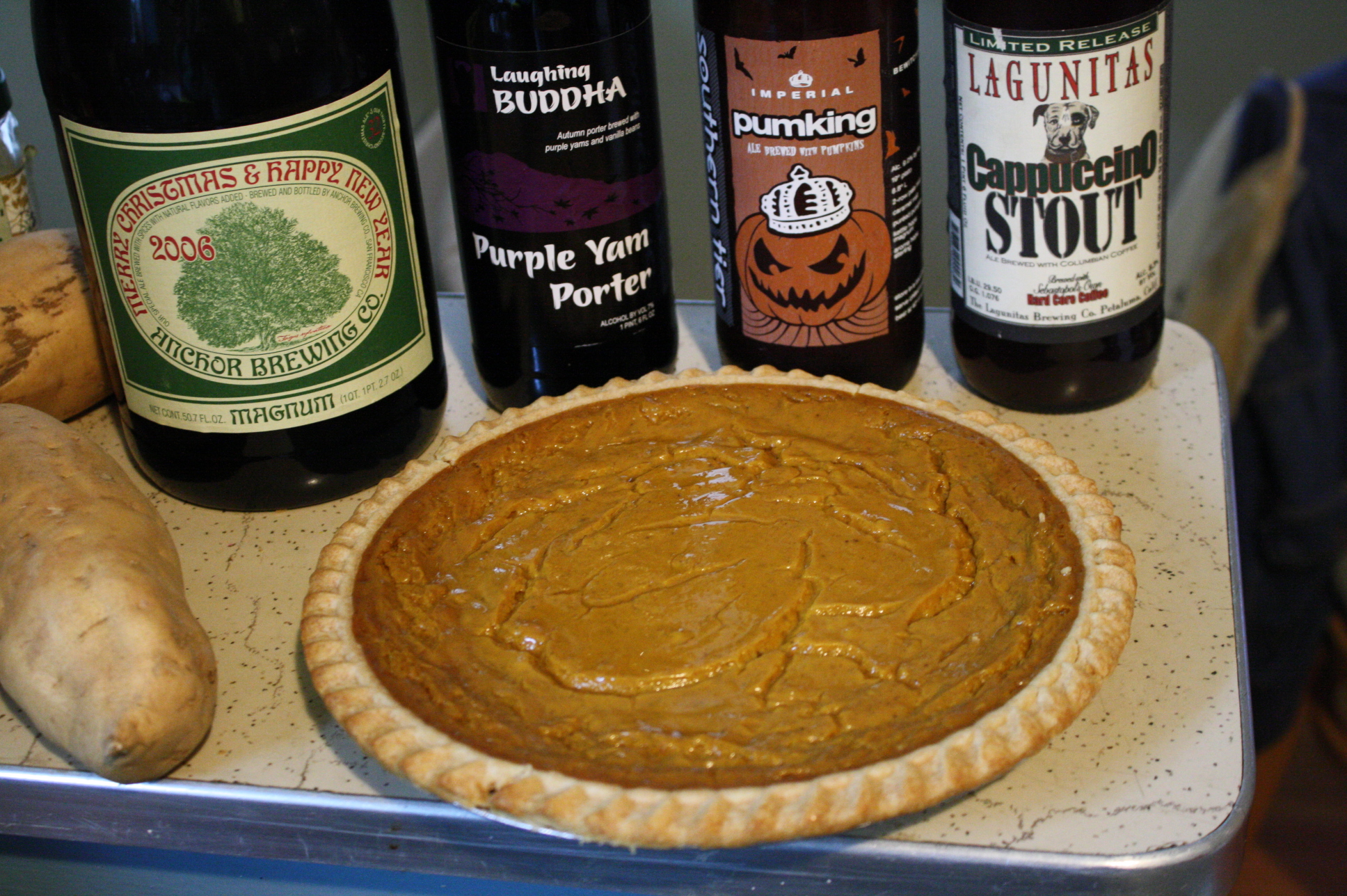 Holiday beer pairings