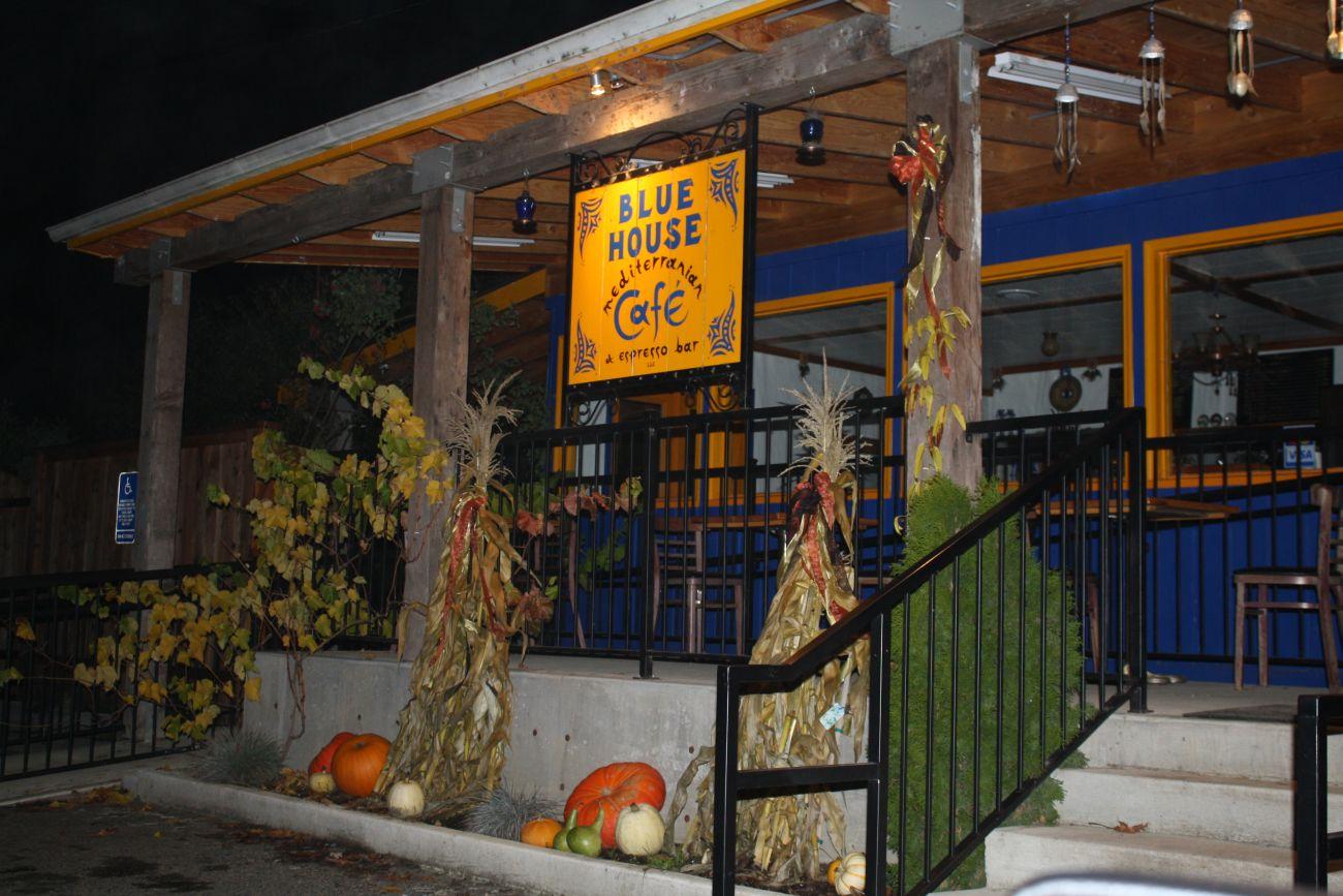 Blue House Cafe Vernonia Menu
