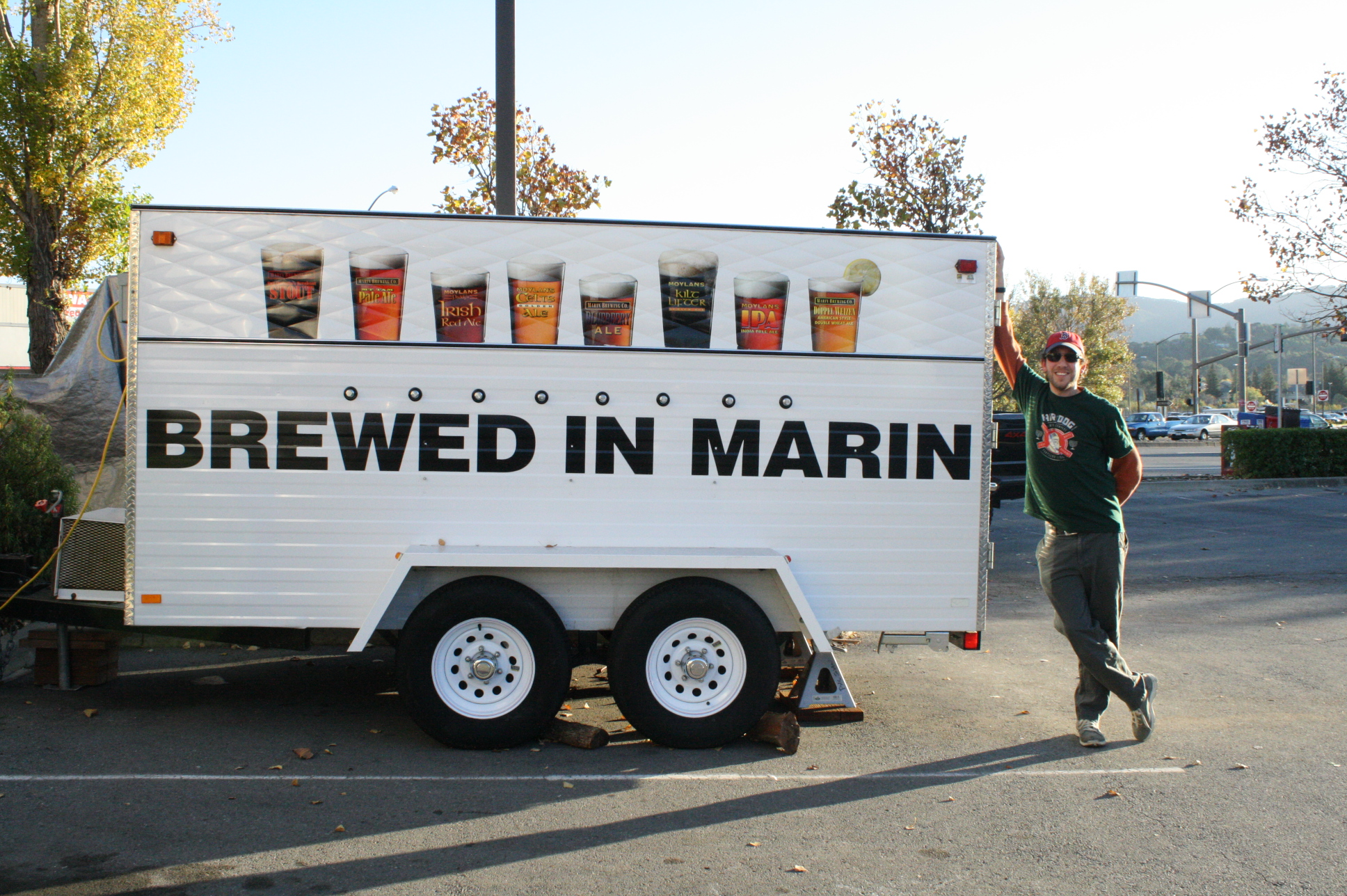 Brewed in Marin