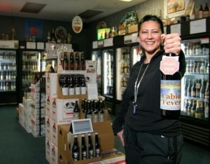 Arlene Nunez, owner of By The Bottle in Vancouver, WA
