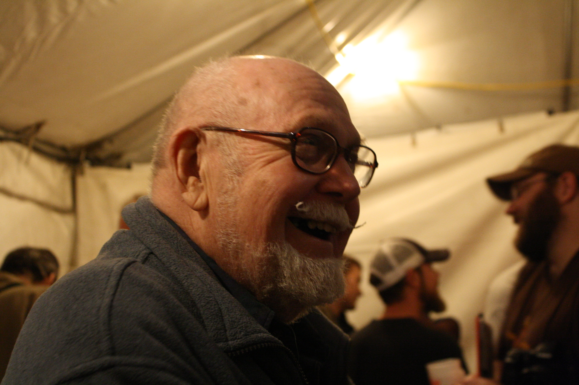 Fred Eckhardt at 2008 Holiday Ale Fest