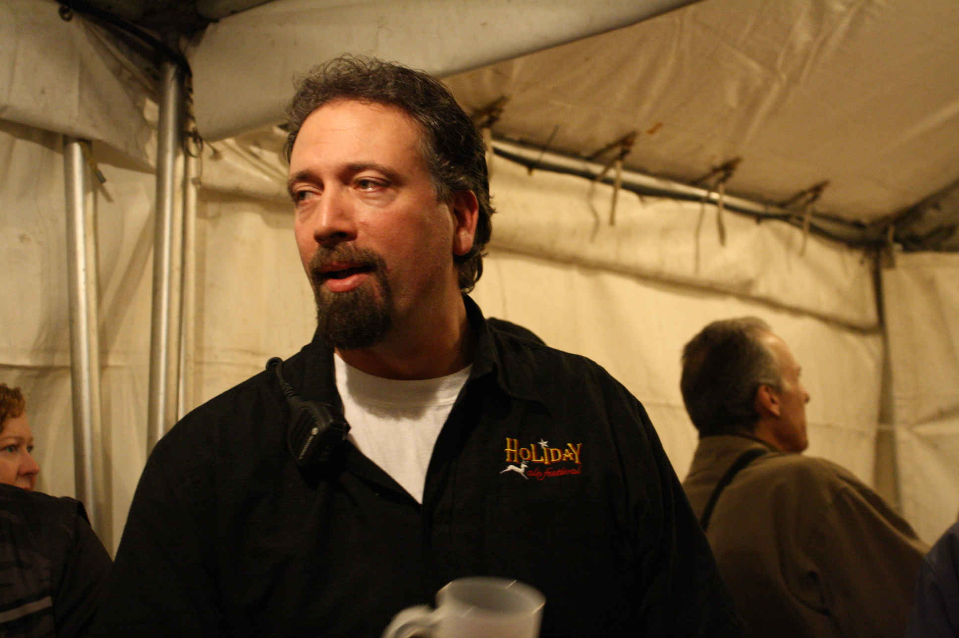 Holiday Ale Fest organizer Preston Weesner