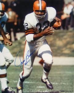 Brown's Hall of Fame RB Jim Brown
