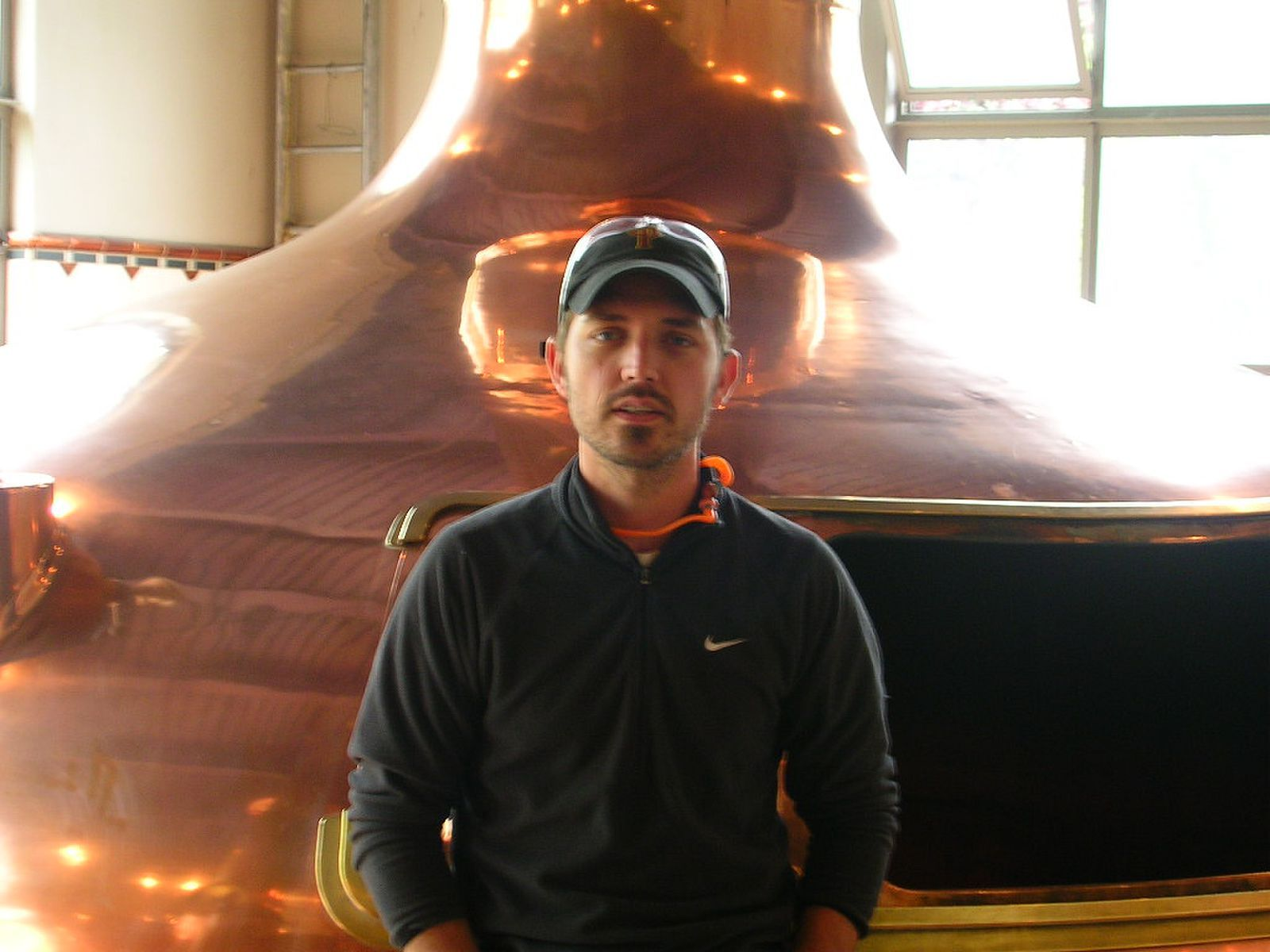 Tom Bleigh at Pyramid Brewing in Portland, Oregon back in 2009.