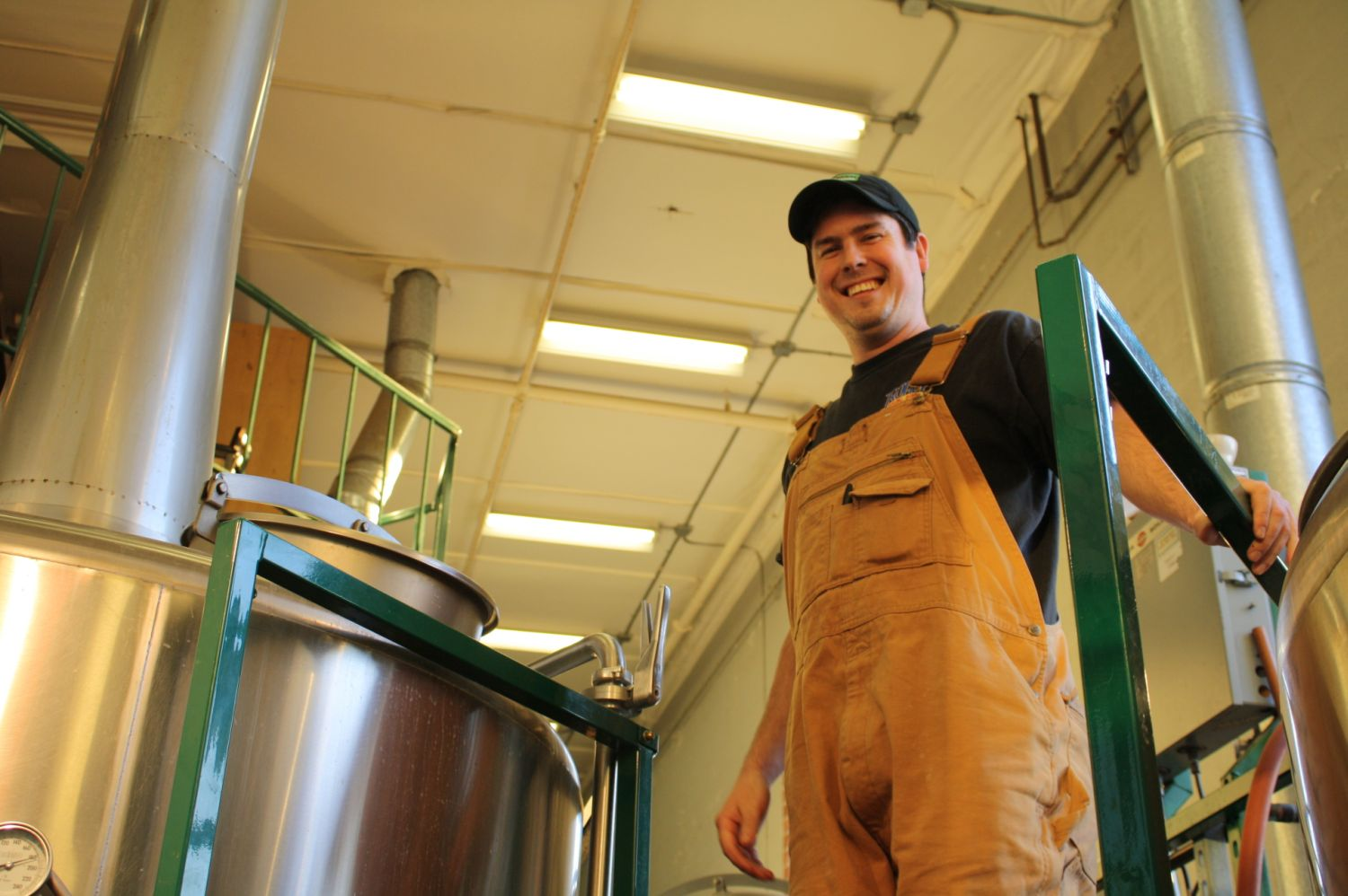 Hop Valley brewmaster Trevor Howard