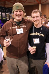 Oakshire Brewing's Chris Althouse and Joe Jasper