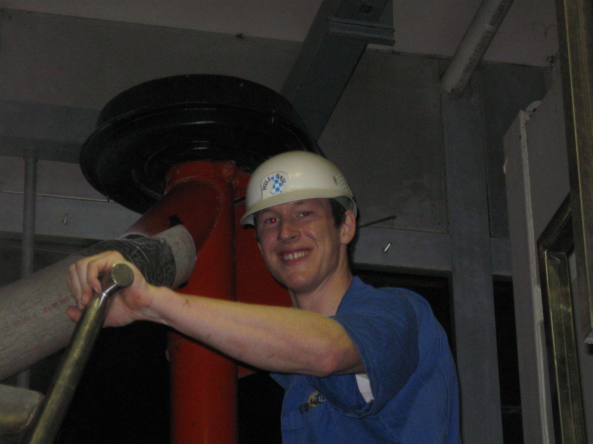 Full Sail brewer Kyle Larsen