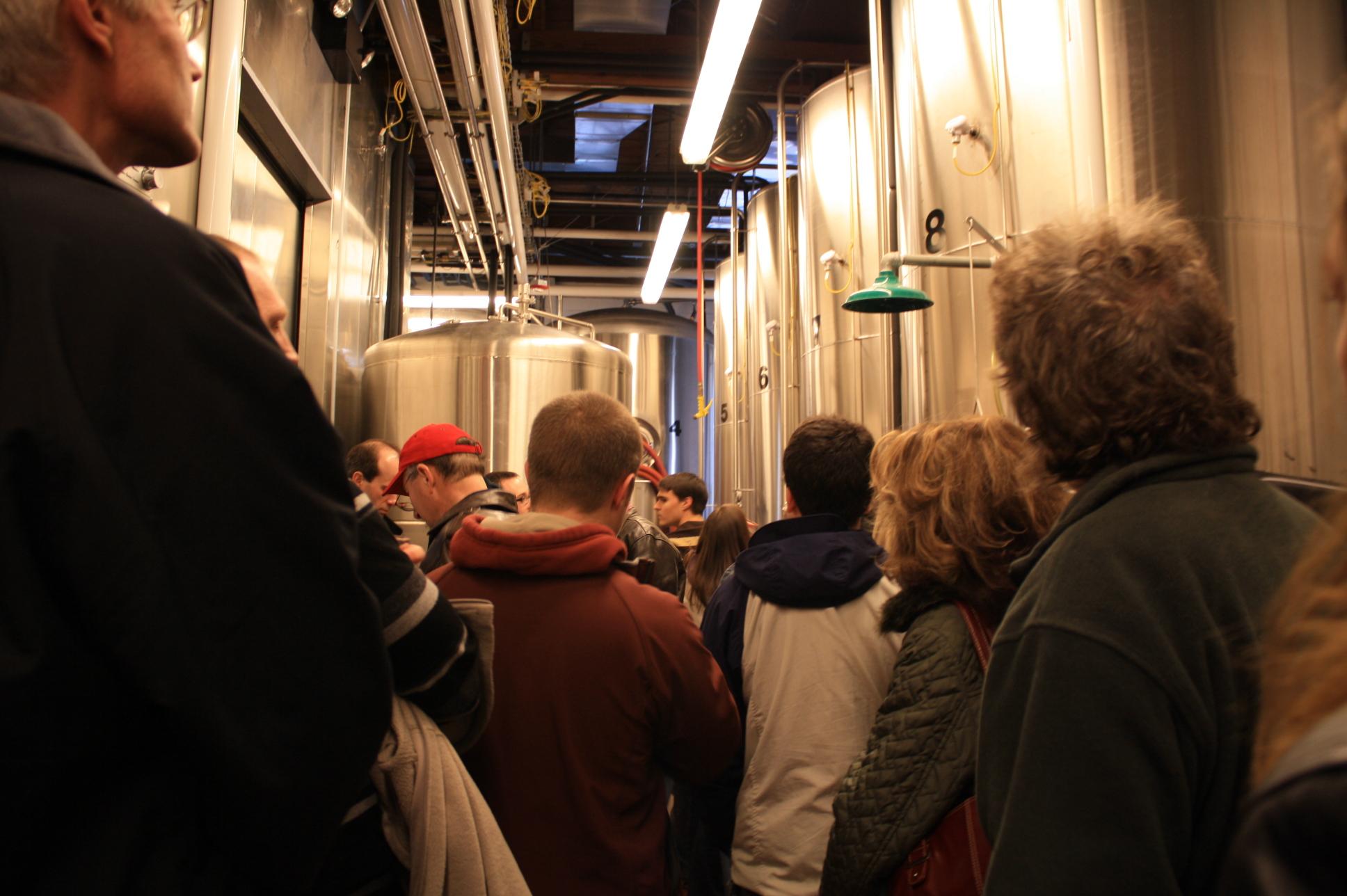 Zwicklemania crowd at Portland's Deschutes Brewery