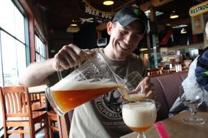 Bolt Minister of Portland's Rock Bottom Brewery