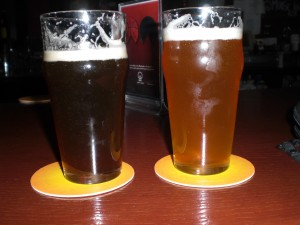 Worryin' Ale and Full Frontal Pale Ale