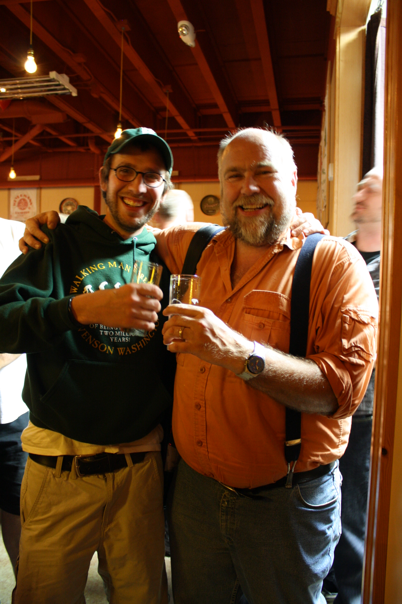Angelo and Oregon's original beer blogger John Foyston of The Oregonian