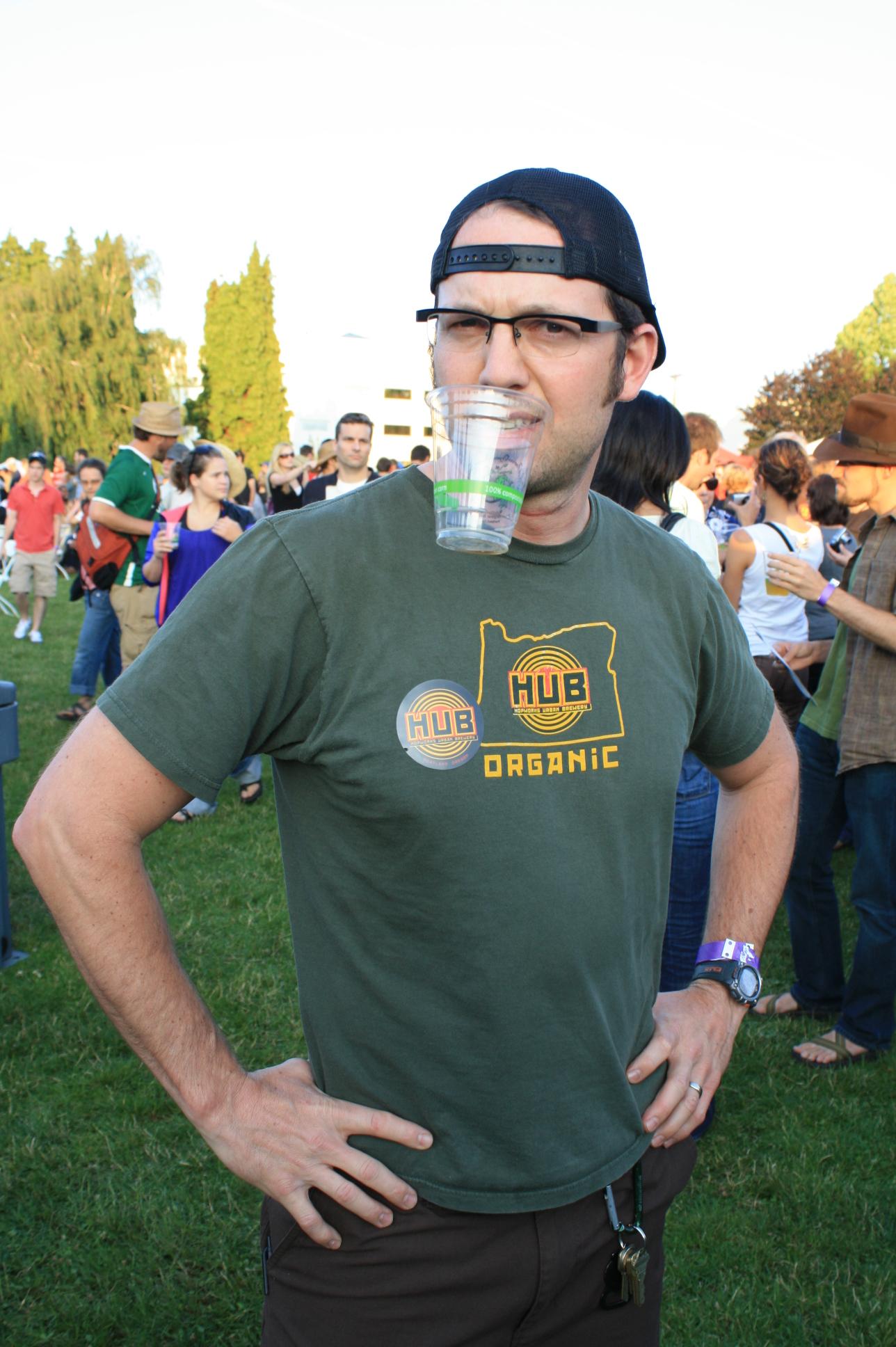 Hopworks founder/brewer Christian Ettinger