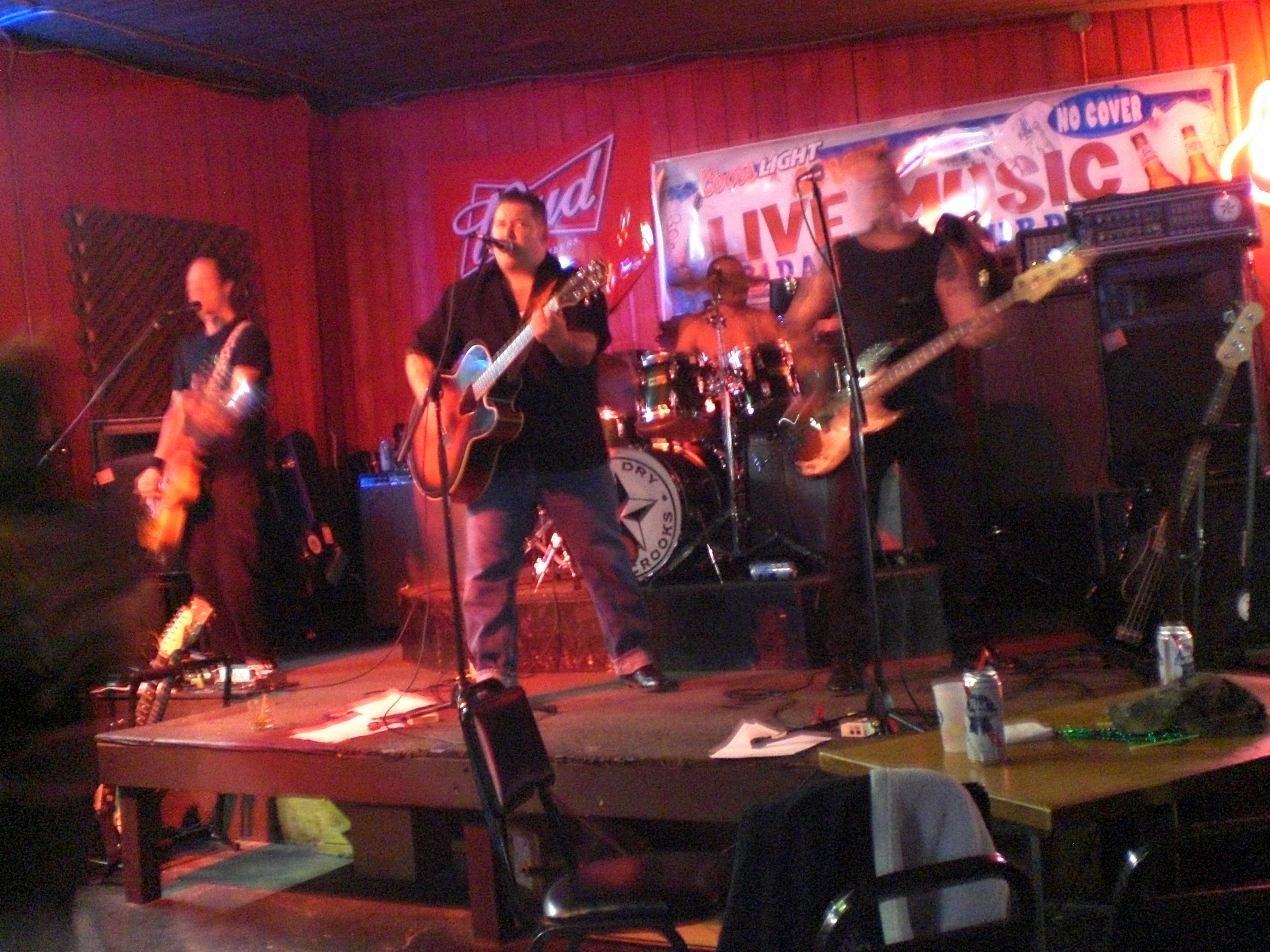 Dry County Crooks at the River Roadhouse