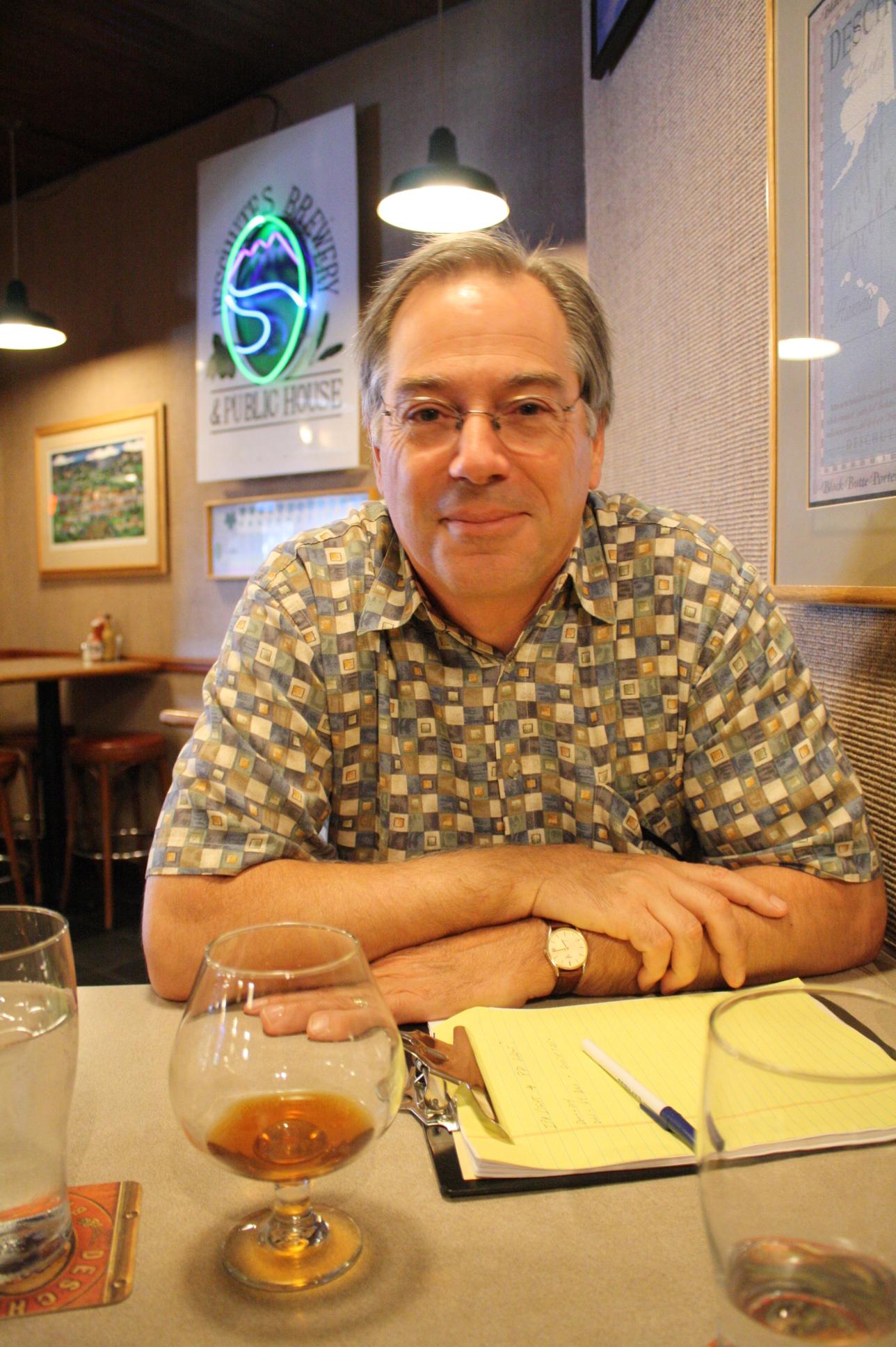 Deschutes Brewmaster Larry Sidor