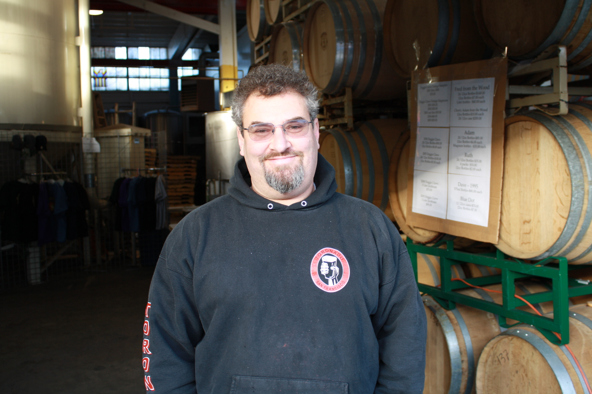 Brewmaster and founder Alan Sprints of Hair of the Dog Brewing