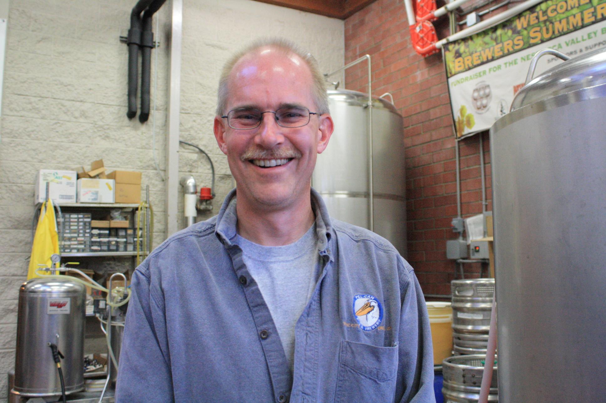 Pelican Brewmaster Darron Welch