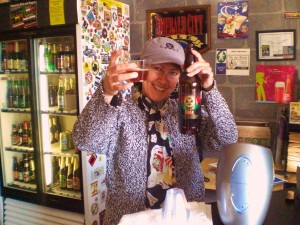 By the Bottle owner Arlene Nunez gets down with Buck-It Tuesday