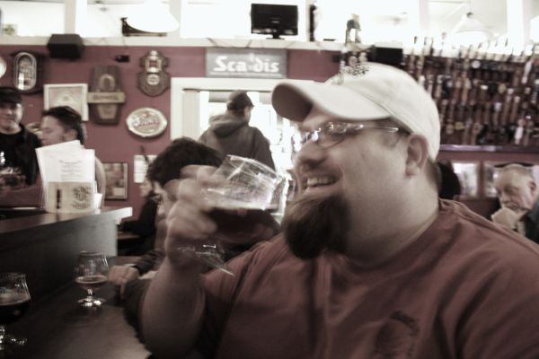 Barley Brown's head brewer Shawn Kelso