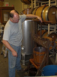 Cascade brewmaster Ron Gansberg makes an assortment of obscur specialty and one-off beer styles including three (so far) different renditions of Gose.