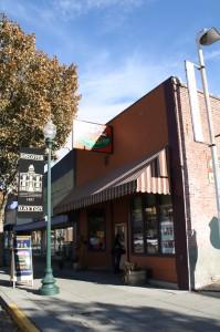 Skye Book & Brew in historic downtown Dayton, WA