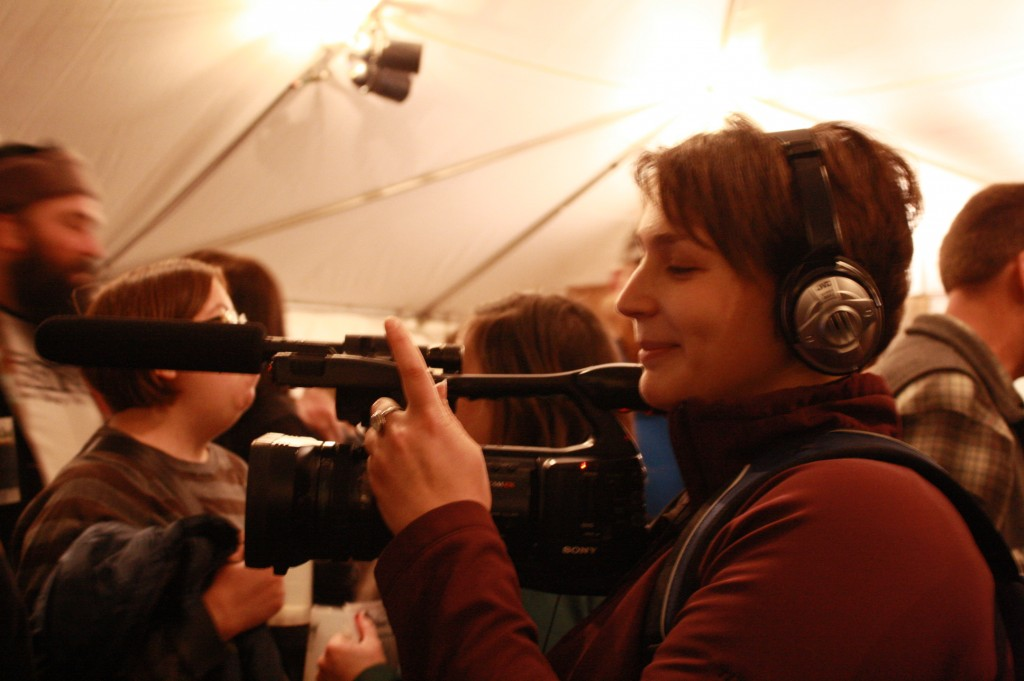 Videographer Alison Grayson