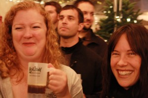 Lisa Morrison (left) and Sarah Pederson