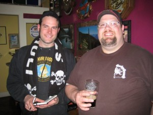 Abram Goldman-Armstrong (left) and Shawn Kelso of Barley Brown's
