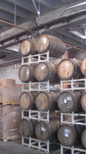 Hopworks' barrels