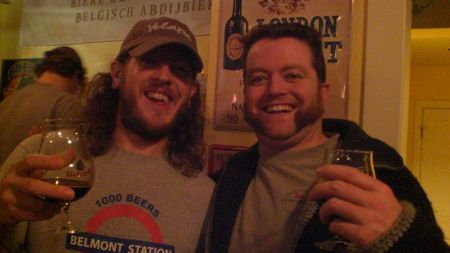 Gareth and Jesse at Bigger, Badder, Blacker