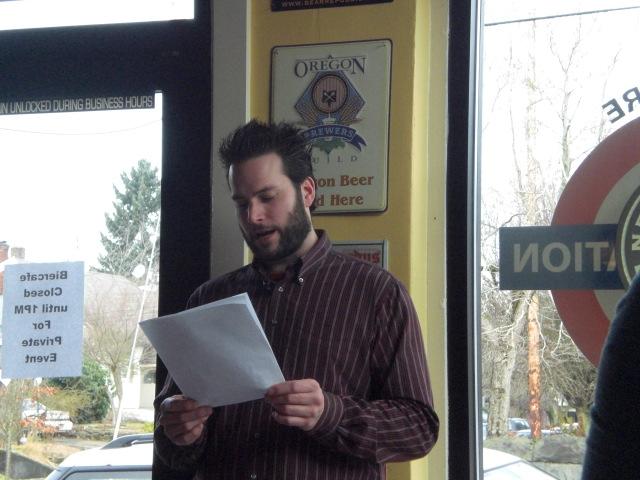 Abram Goldman-Armstrong hosts CDA Symposium at Belmont Station