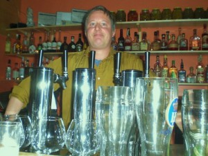 The Hop & Vine Bartender, Jason