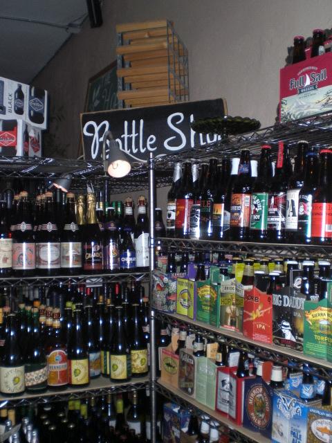 The Hop & Vine bottles
