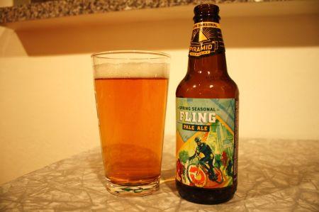 Pyramid Fling: not a bad beer