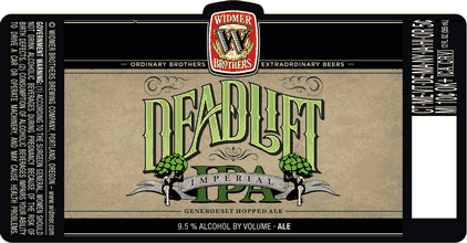 Widmer Deadlift Imperial IPA