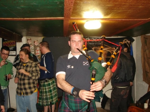 Abram Goldman-Armstrong on the pipes