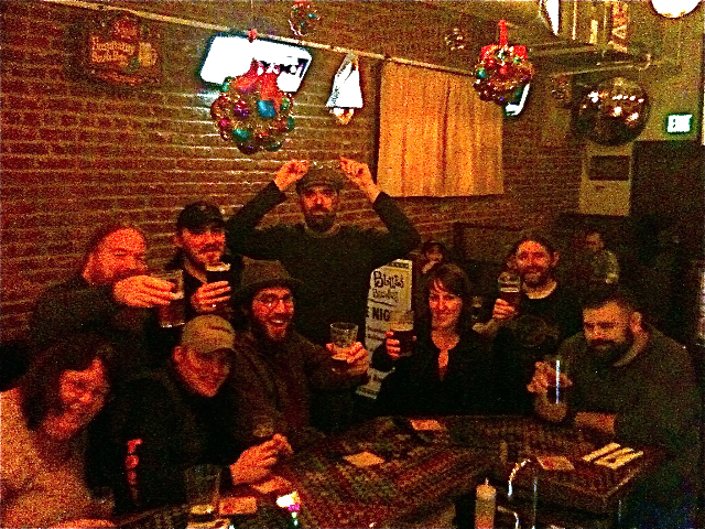 Saraveza is a great place to meet with friends who love great beer (photo: J. Carmean)