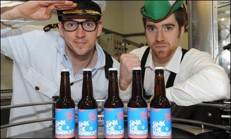 BrewDog's James Watt and Martin Dickie