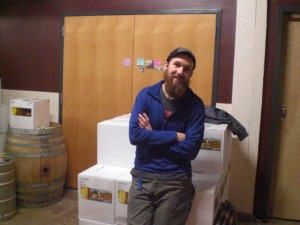 Captain Neil Yandow at Upright Brewing