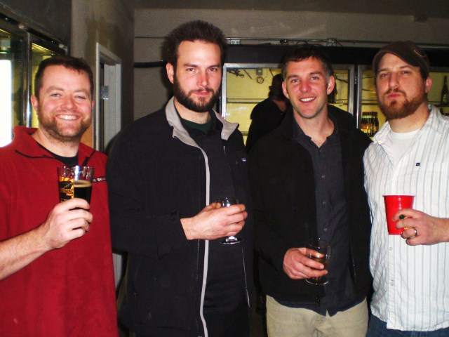 (l to r) Jesse McCann, Abram Goldman-Armstrong, Matt Phillips, Ben Love