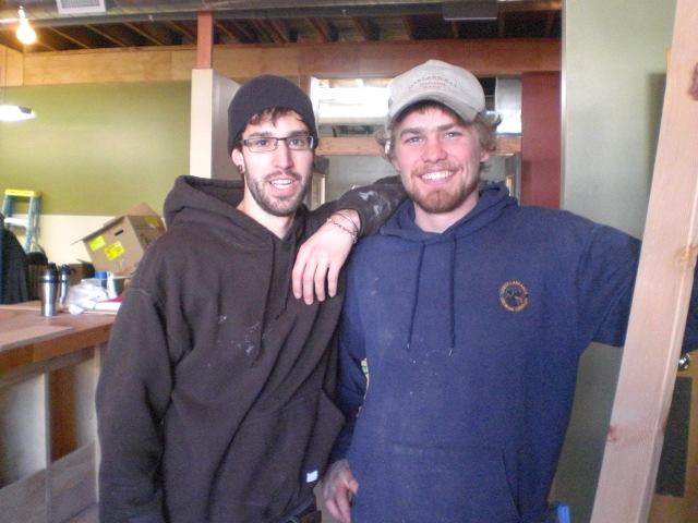 Migration's Colin Rath (left) and Michael Branes