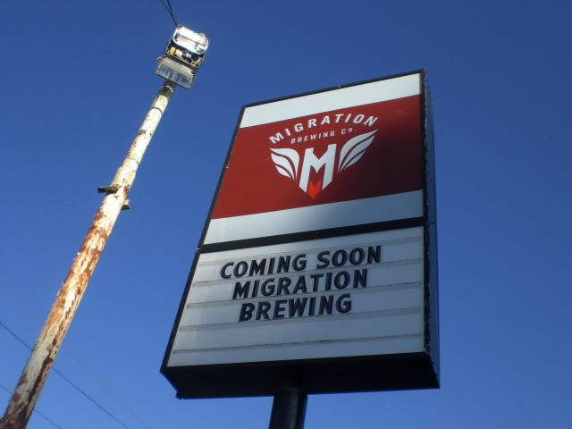 Migration Brewing when they were yet to open. (photo by Angelo De Ieso)