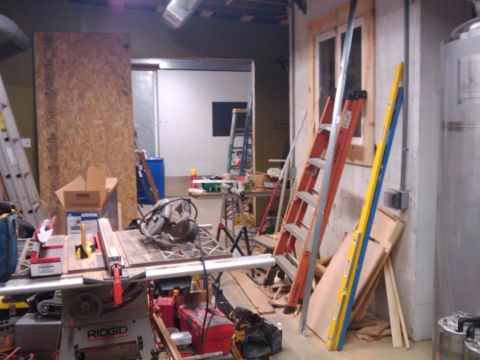 Migration brewery is still a work in progress but will soon be putting out its first brew sometime next week