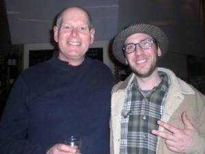 Heater Allen brewer Rick Allen (left) and Angelo of Brewpublic