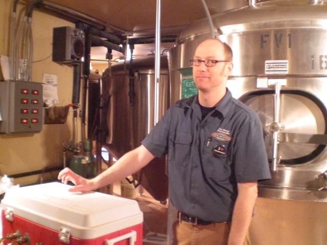 Rock Bottom senior brewer Van Havig