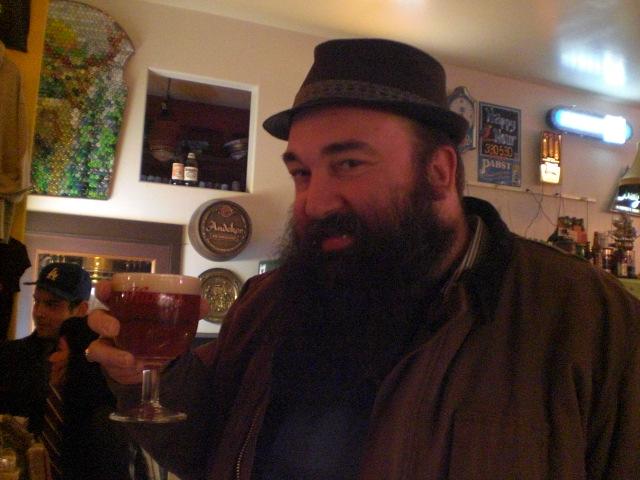 "Chris ""King C"" Ensign loves crazy beers"