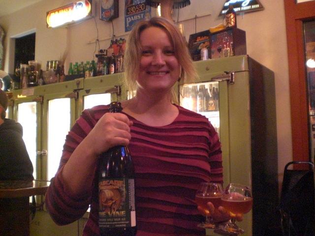 Saraveza bartender Erika loves da sour beerz