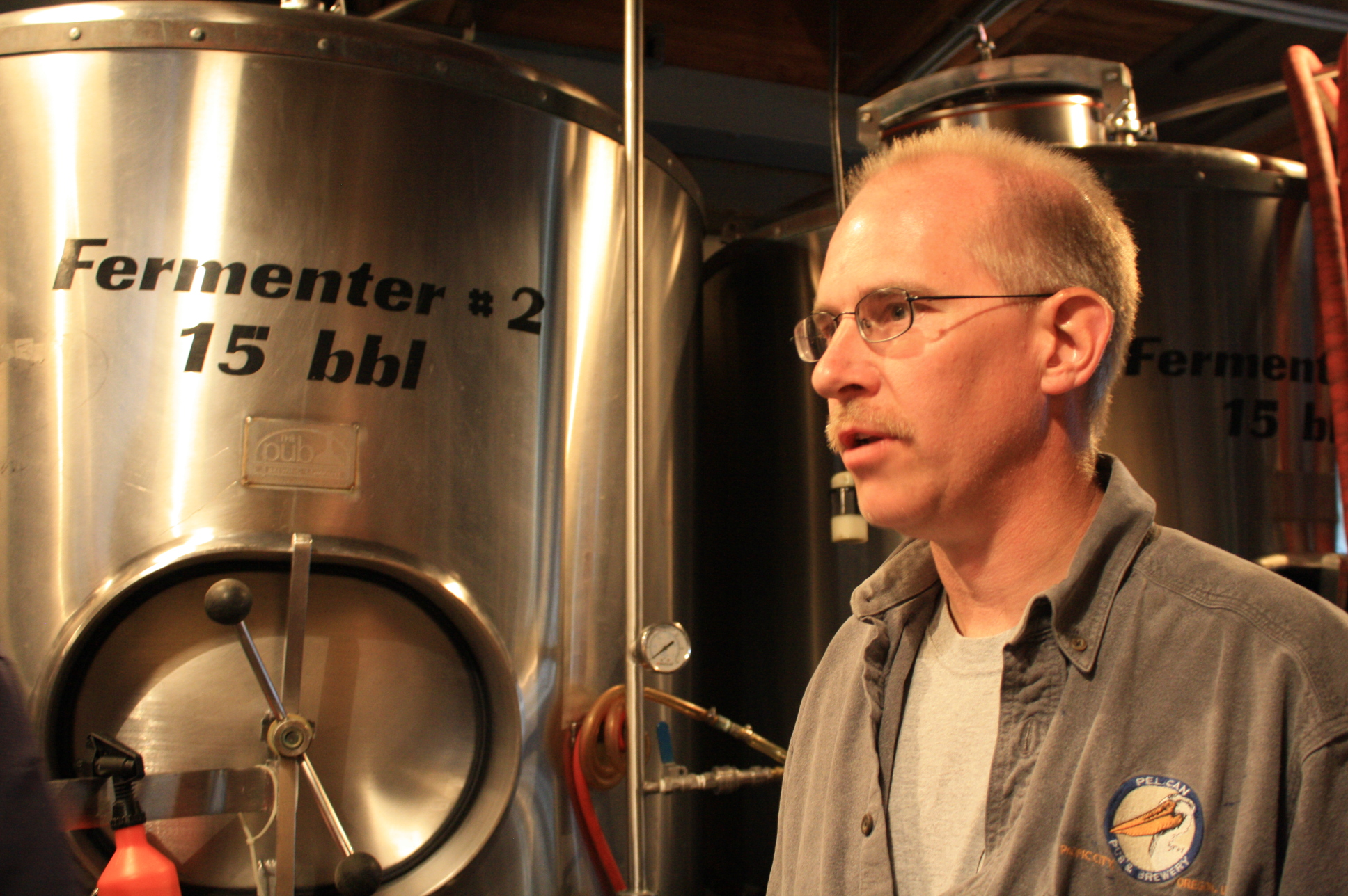 Darron Welch of Pelican Brewing