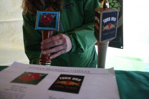 Elysian Haleakala Hibiscus Wild Ale and Toro Oro Yerba Mate Tripel on tap